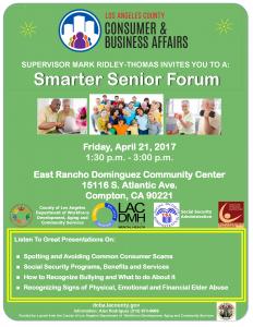 4-21-17 Smarter Seniors Forum