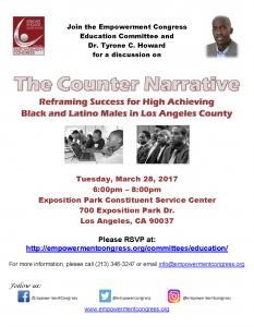 The Counter Narrative 3-28-2017