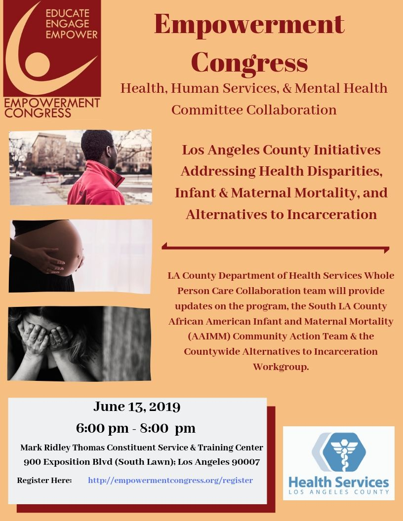 LA County Initiatives update, 6/13/19, click to register